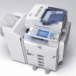 An image of a photocopier which has undergone repairs in Stevenage by Paw Print Copiers.